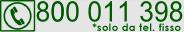 Numero Verde Segreterie Studenti: 800 011 398